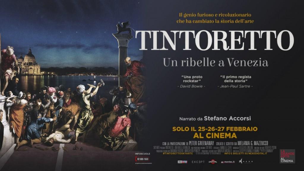 arte al cinema Tintoretto