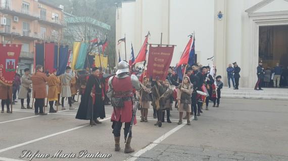 Grande festa a Cassino per la conclusione dei festeggiamenti in onore di San Benedetto