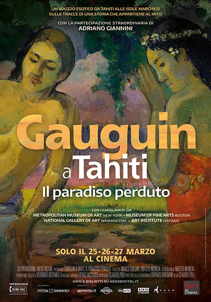 Arte al Cinema Gauguin a Thaiti