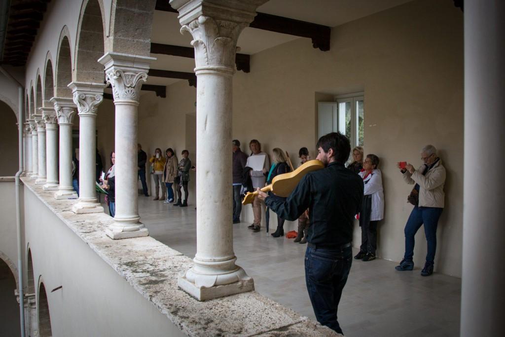 chiostro di Sant'Oliva a Cori
