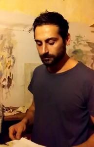 Il pittore, scultore e fotogtafo Luca Grossi