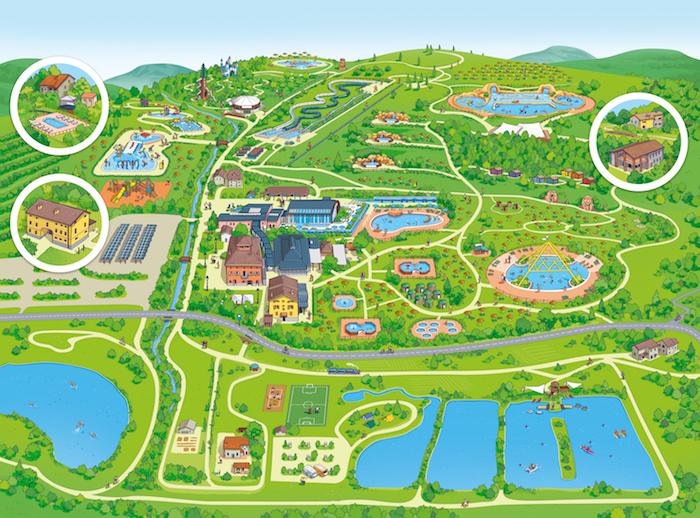mappa villaggio della salute piu