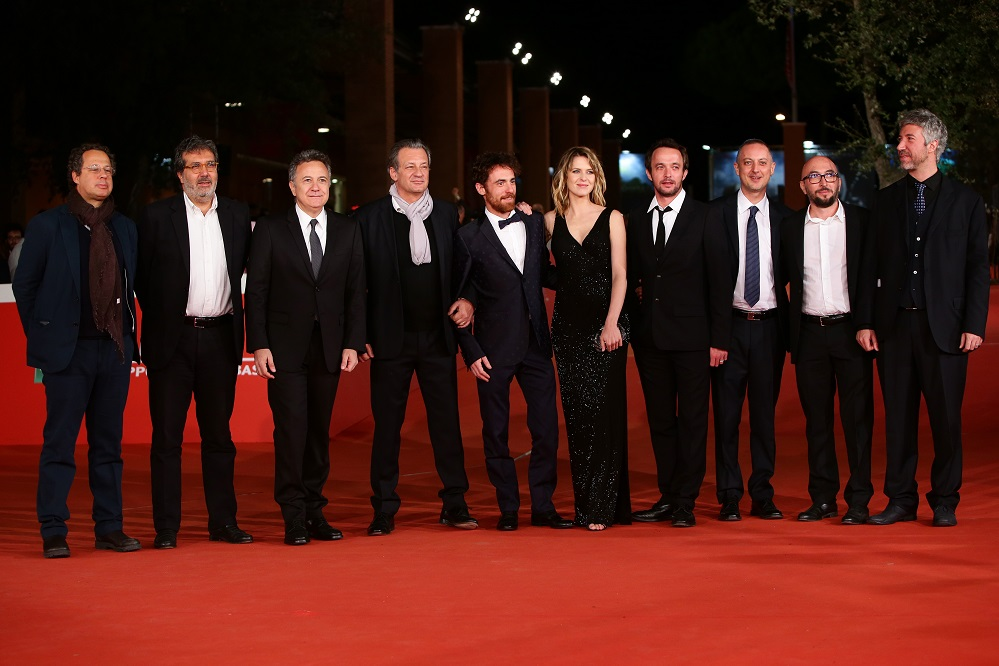 attends a red carpet for 'Alaska' during the 10th Rome Film Fest on October 23, 2015 in Rome, Italy.