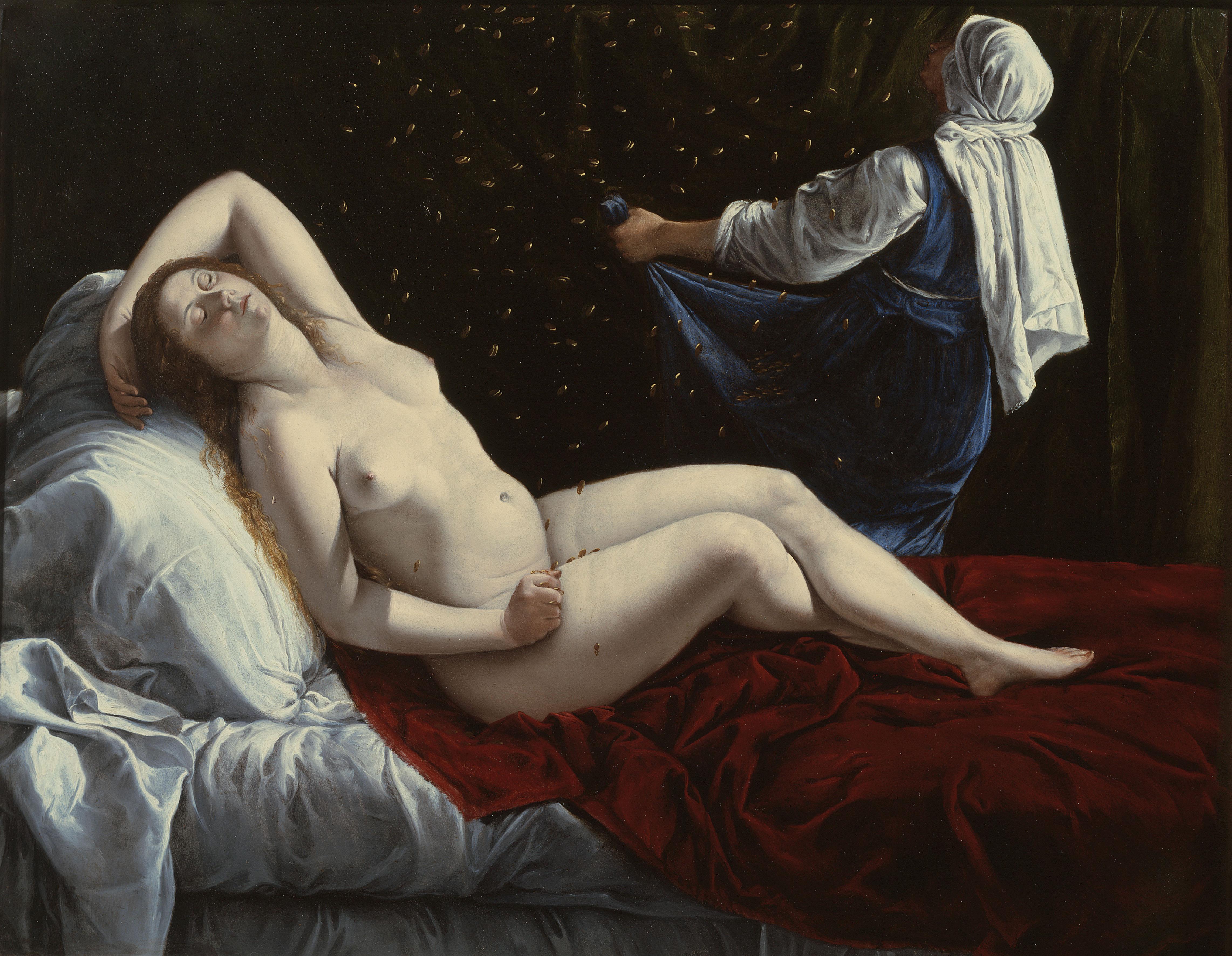 Artemisia Gentileschi,  Danae