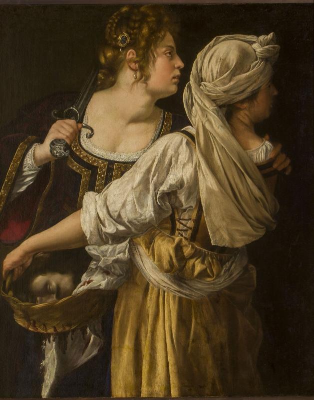 Artemisia Gentileschi , Giuditta e la fantesca Abra