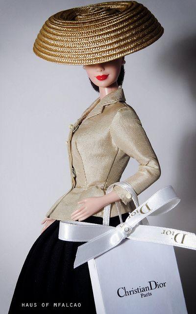 Barbie Doll-Tailleur Bar di Dior