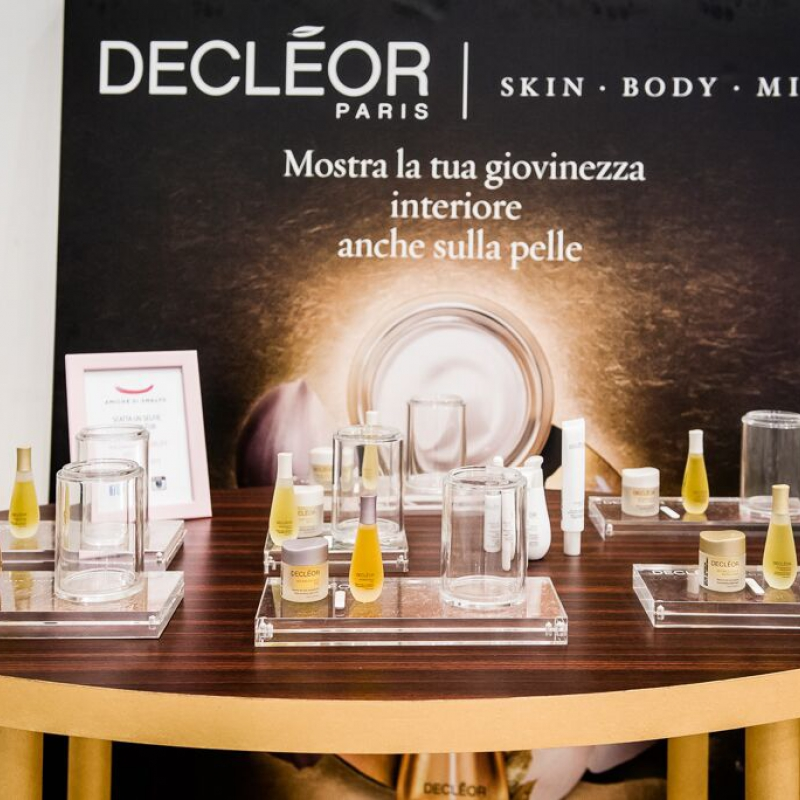 beauty party declèor