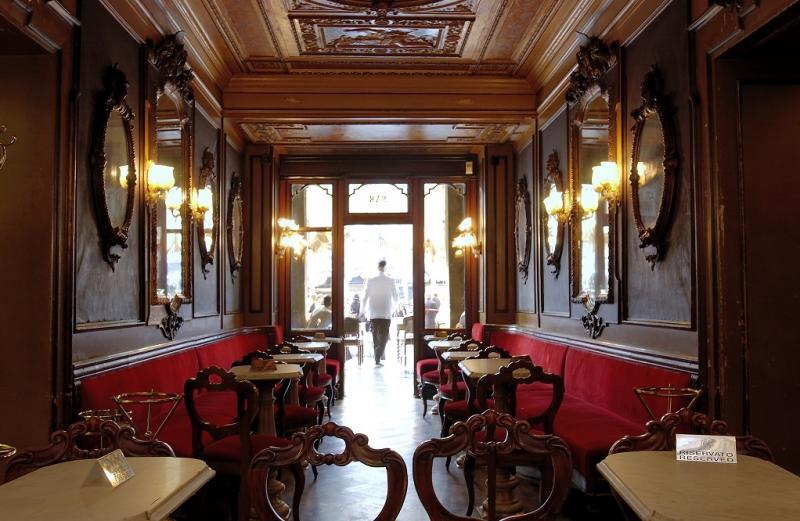 Le Spose del Mare di Kusterle al Caffè Florian