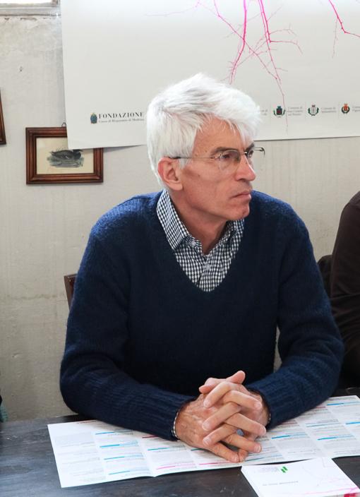 Il Presidente Andras Gemes