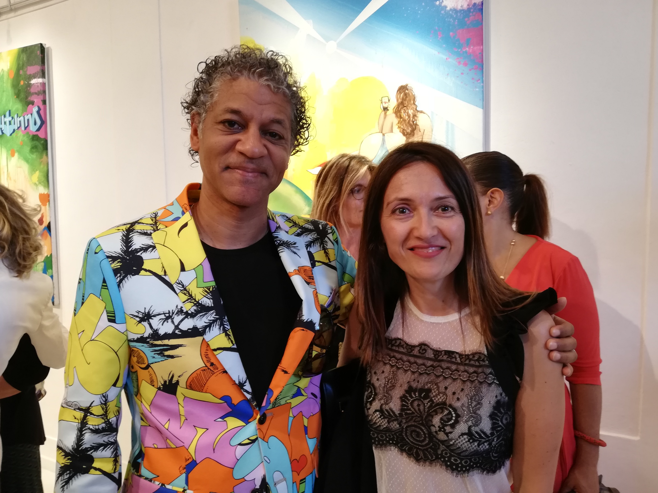 MyWhere con l'artista Daze