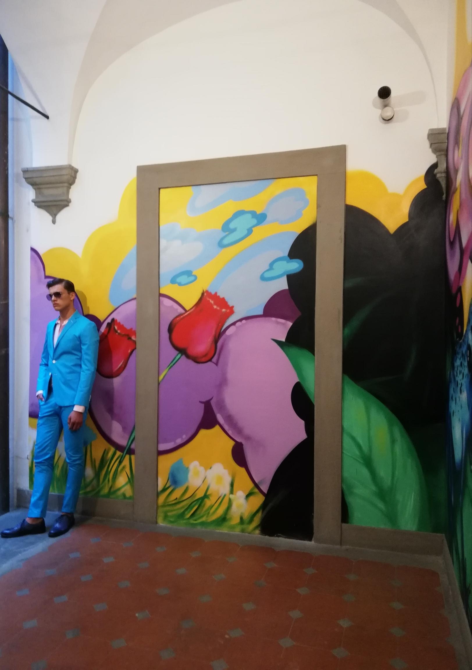 L'opera monumentale di Daze - il murales