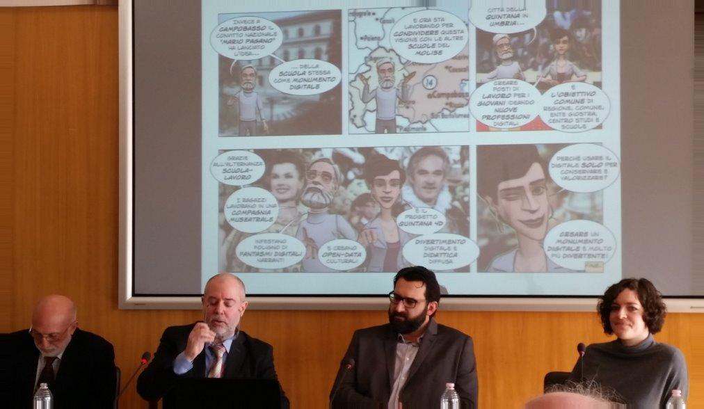 Secondo da sinistra, Paolo Russo (Stati Generali Innovazione)