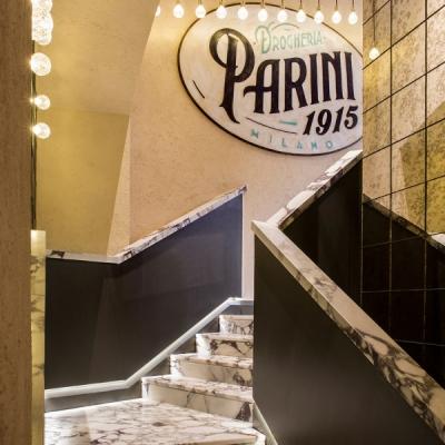 Drogheria Parini - Gradinata in marmo