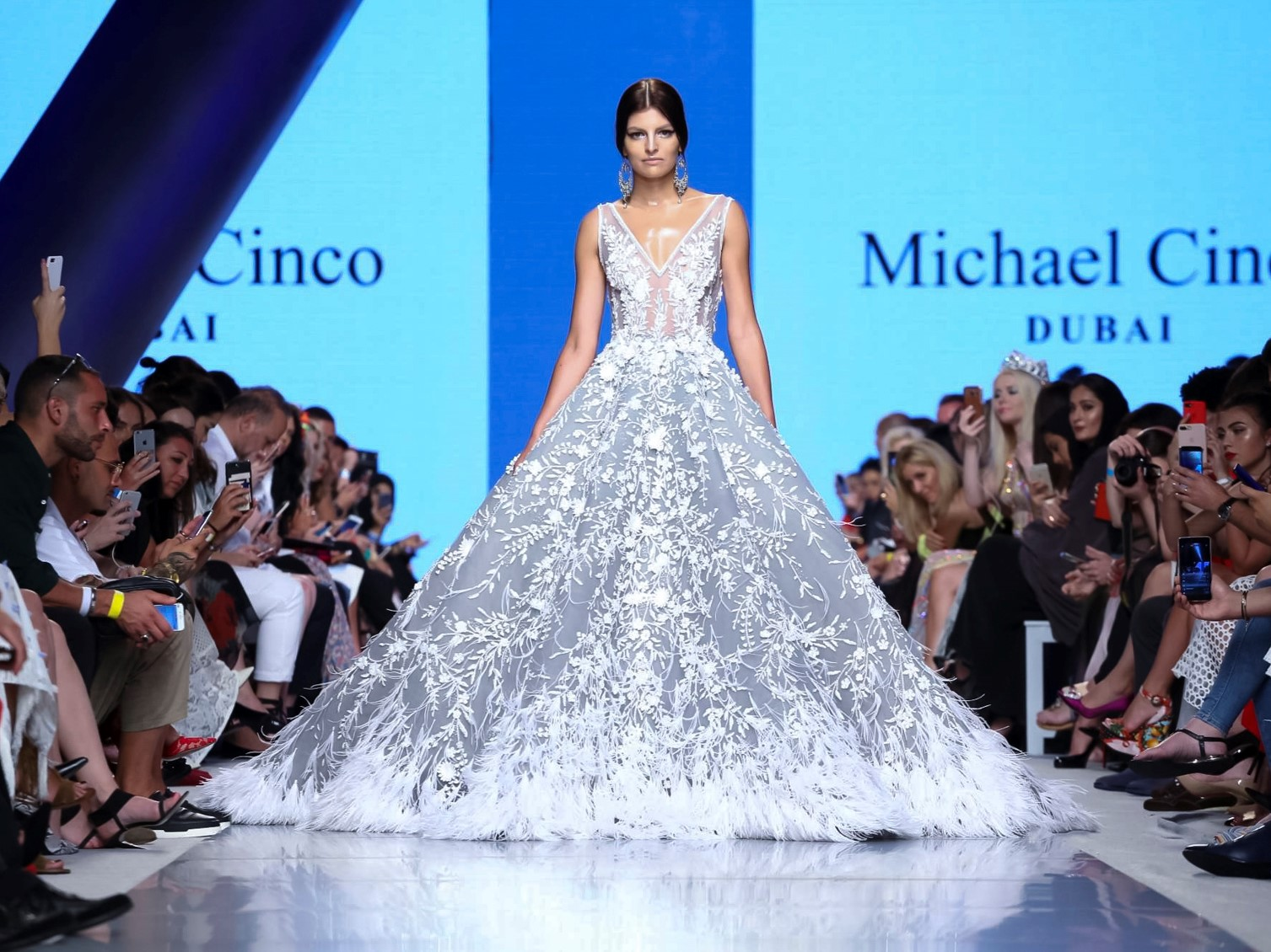 Michael Cinco Fashion Show, Ready to Wear Collection Fall Winter 2017 in Dubai