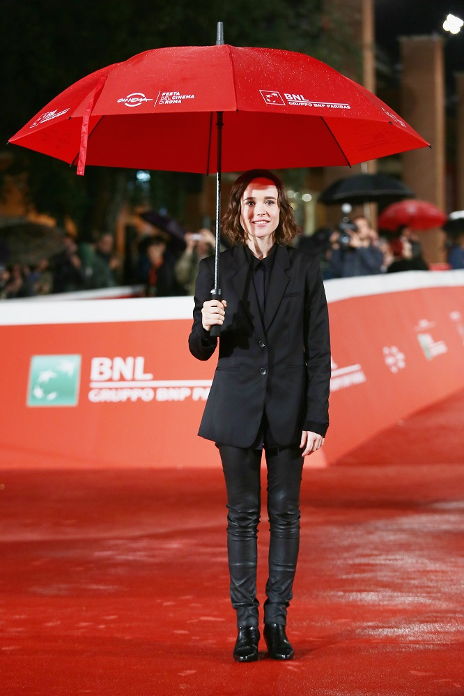 attends the red carpet for 'Freeheld' during the 10th Rome Film Fest on October 18, 2015 in Rome, Italy.