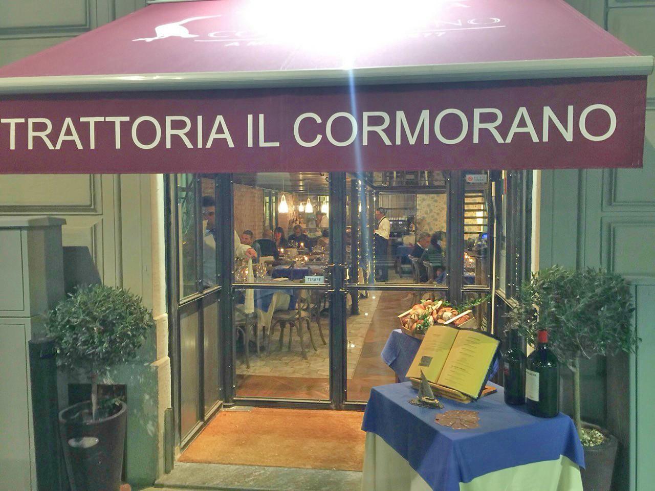 Il Cormorano - Ingresso