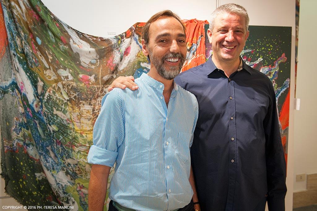 Arvedo Arvedi con Miche Esposito