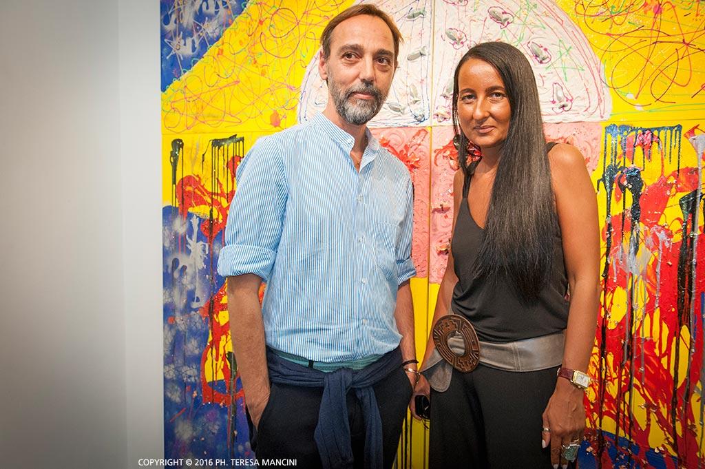 Michele Esposito e Sabrina Persechino