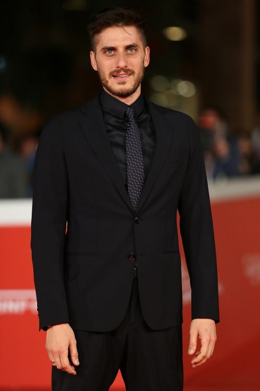 attends a red carpet for 'Lo Chiamavano Jeeg Robot' during the 10th Rome Film Fest on October 17, 2015 in Rome, Italy.