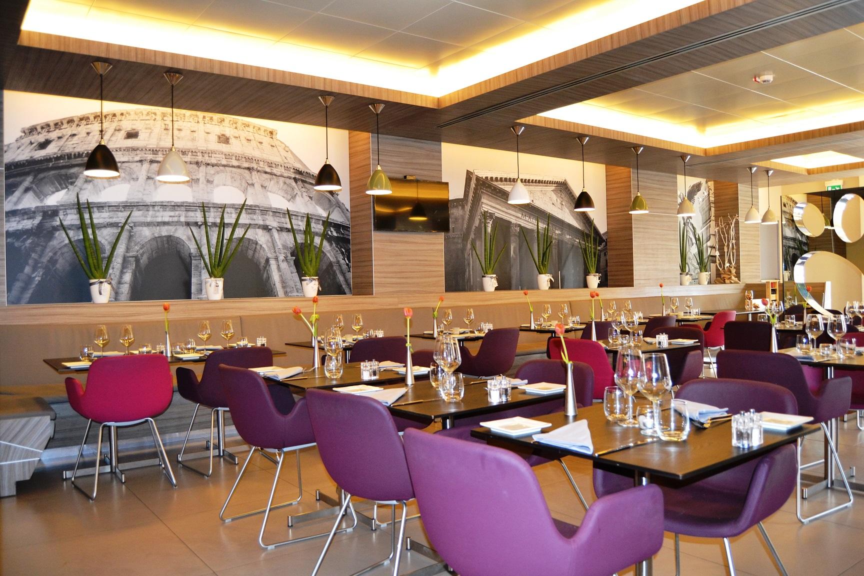 Mercure Roma Centro Colosseo-Sala colazione