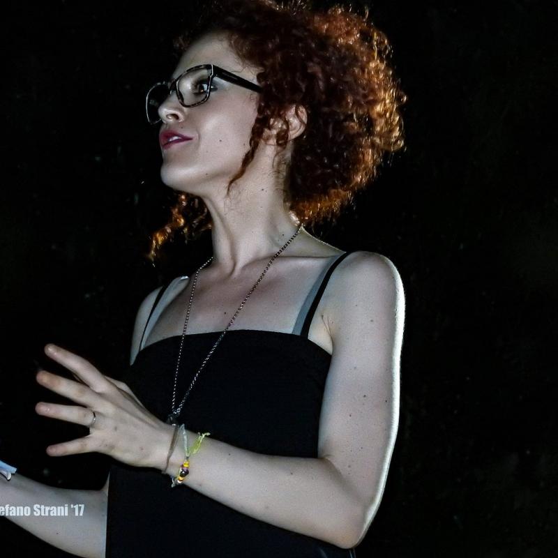 Valentina Lilla, curatrice della mostra