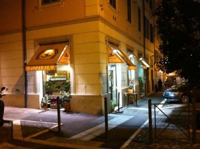Naumachia Roma-Esterno ristorante