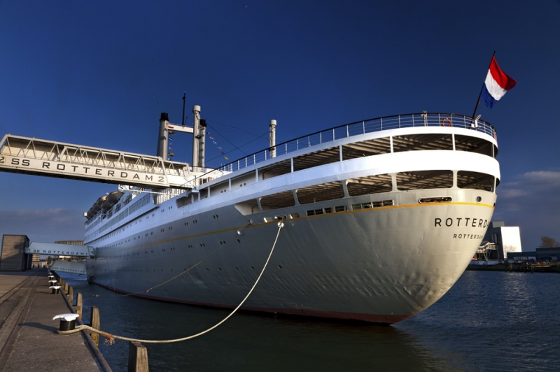 Photos of the SS Rotterdam in Rotterdam, Netherlands by Elan Fleisher / elanhotelpix.com