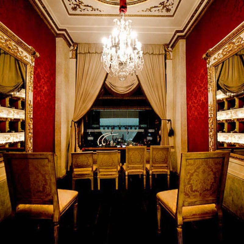 Teatro Regio loggia