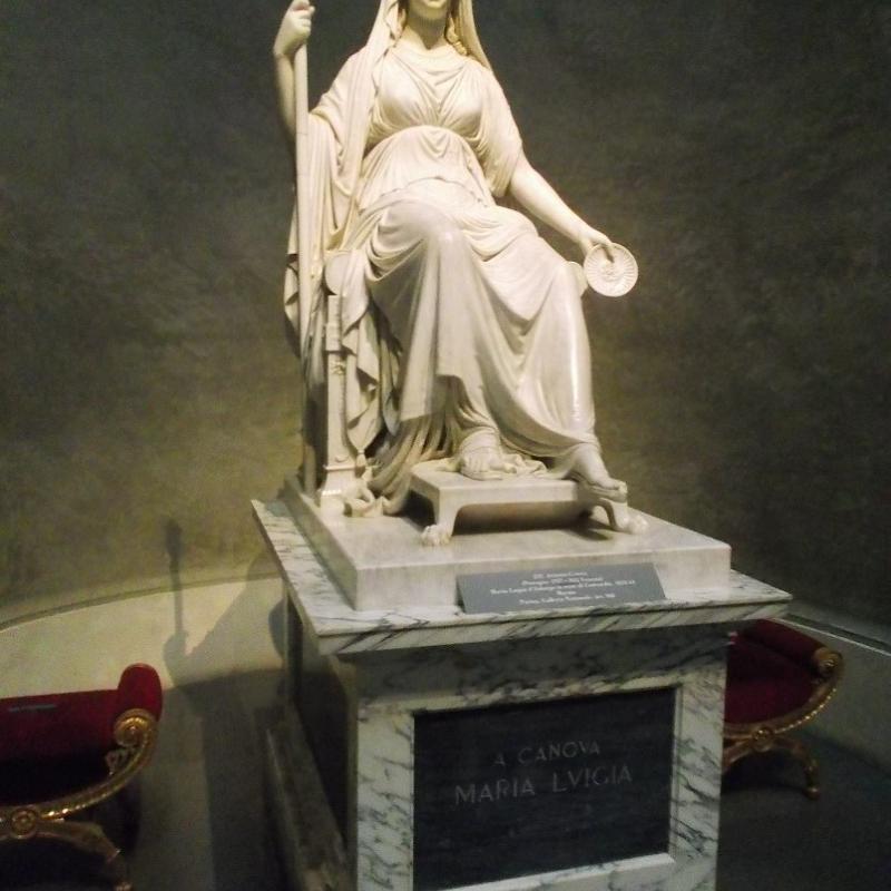 Statua di Maria Luigia-Antonio Canova