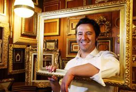PRESSPHOTO  Firenze,  Buongiorno Firenze; la bottega di cornici d'arte di Gabriele Maselli