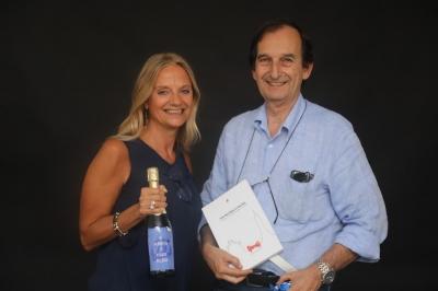 Fabiola Cinque e Riccardo Cattani