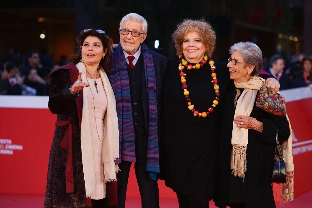 attends the red carpet for 'Ridendo E Scherzando' during the 10th Rome Film Fest on October 18, 2015 in Rome, Italy.