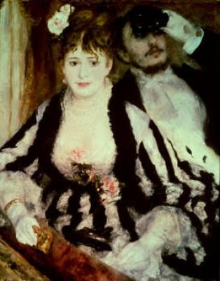 Il palco di Renoir Auguste Renoir 1874