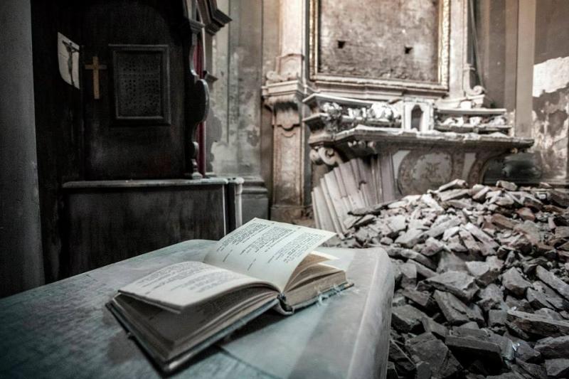 San Felice sul Panaro - Sisma 2012 (rovine del centro storico)