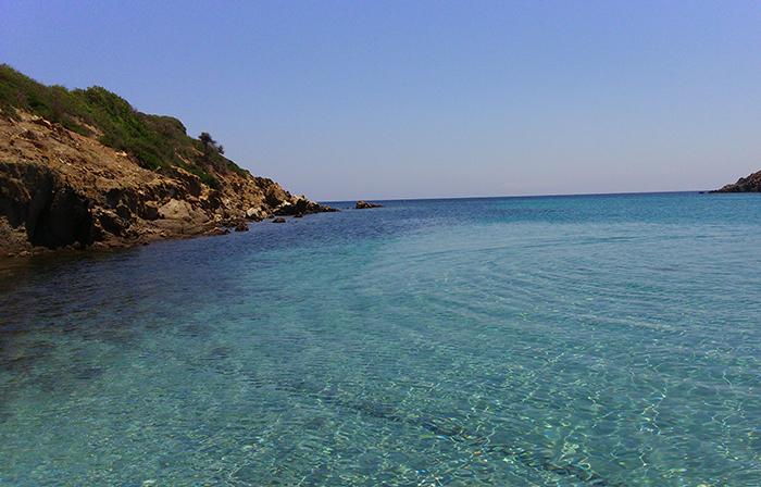 Sardegna, Asinara: Cala dei detenuti
