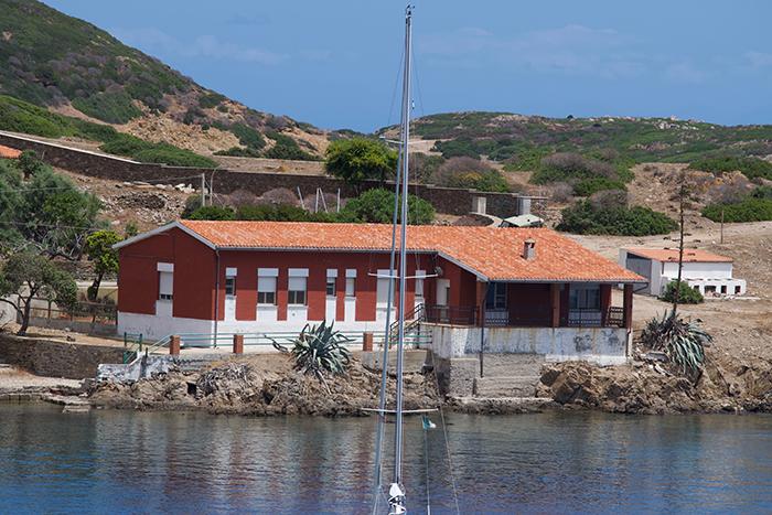 """Asinara, Sardegna: Cala D'Oliva (la """"casa di Falcone e Borsellino"""")"""