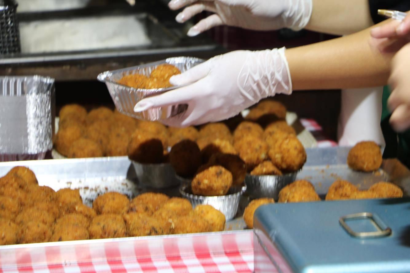 street food arancine