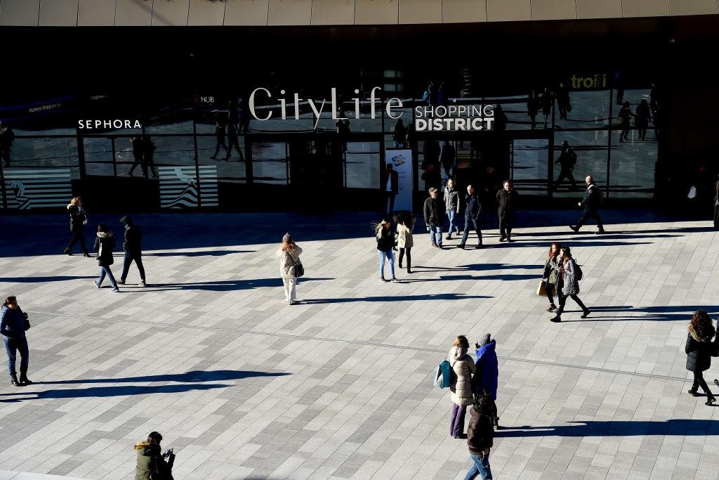 Stroili - La piazza del CityLife