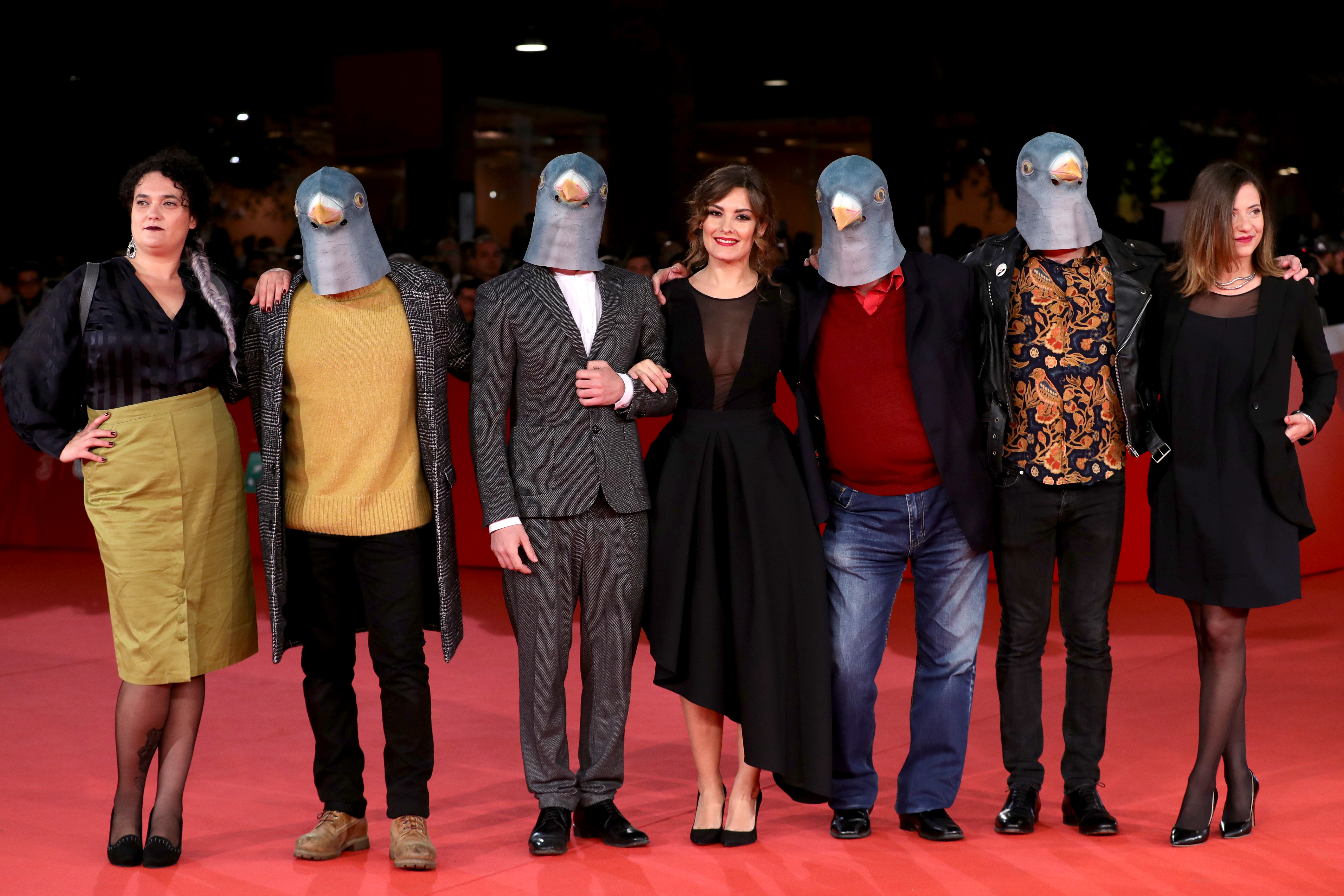 walks a red carpet for 'Maria By Callas, In Her Own Words' during the 12th Rome Film Fest at Auditorium Parco Della Musica on November 1, 2017 in Rome, Italy.