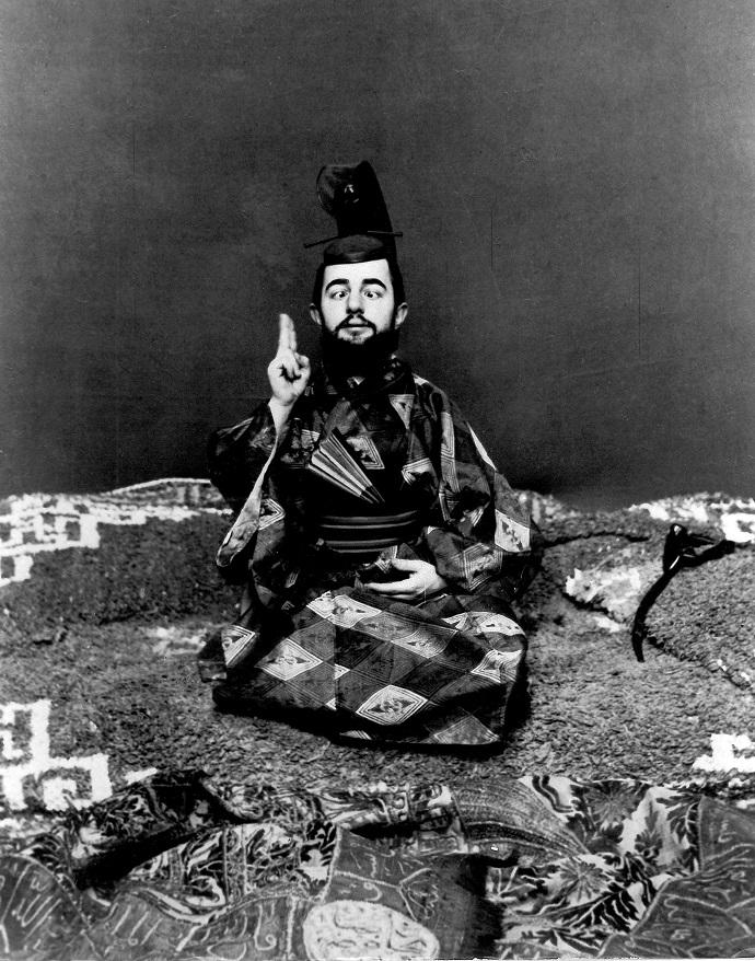 Toulouse-Lautrec - Lautrec strabico in abito giapponese