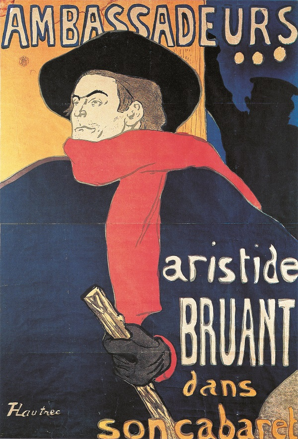 Toulouse-Lautrec - Ambassadeurs Aristide Bruant