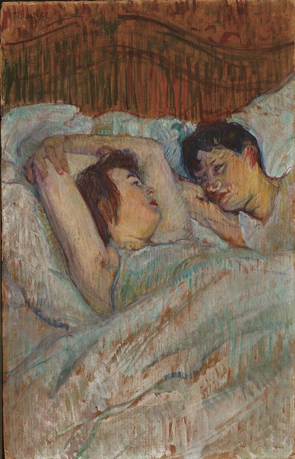 Toulouse-Lautrec - Au lit