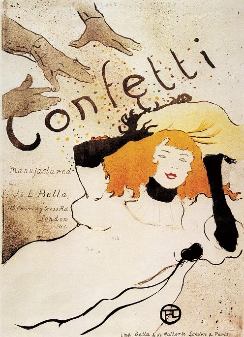 Toulouse-Lautrec - Confetti