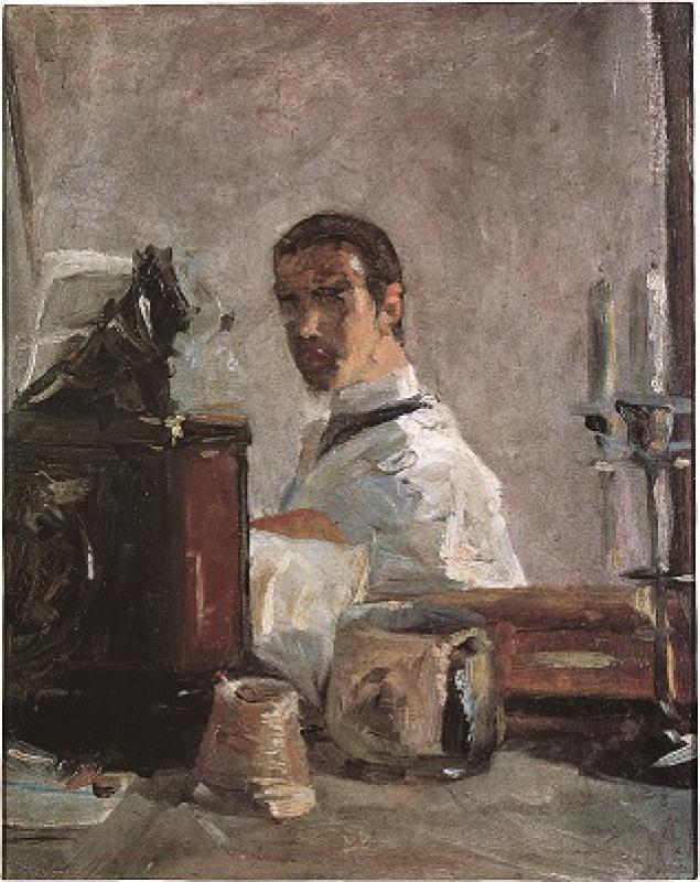 Toulouse-Lautrec - Portrait de Lautrec