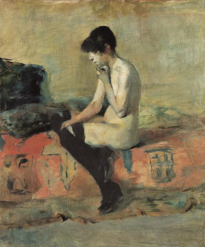 Toulouse-Lautrec - Etude de nu