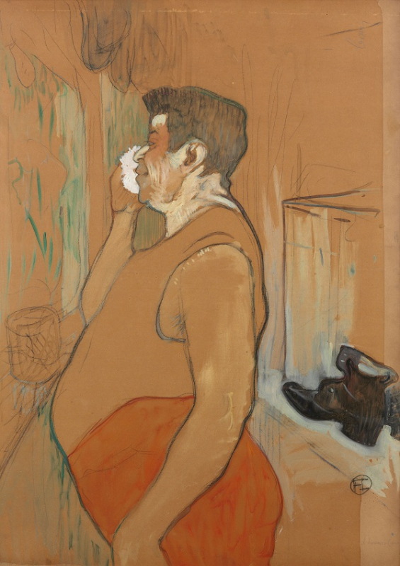 Toulouse-Lautrec - Monsieur Caudieux