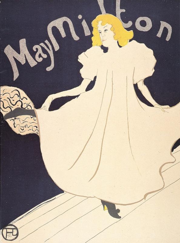 Toulouse-Lautrec - May Milton