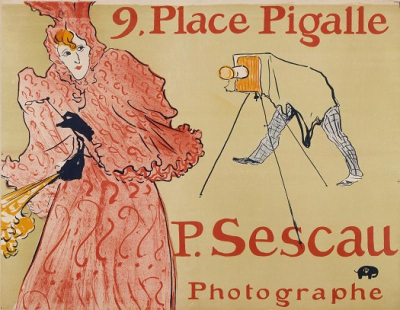 Toulouse-Lautrec - Le photographe Sescau