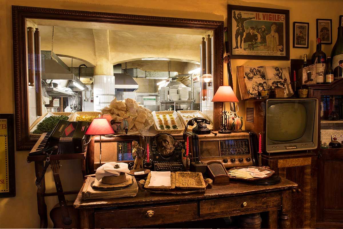 Cucina a vista dall'ingresso