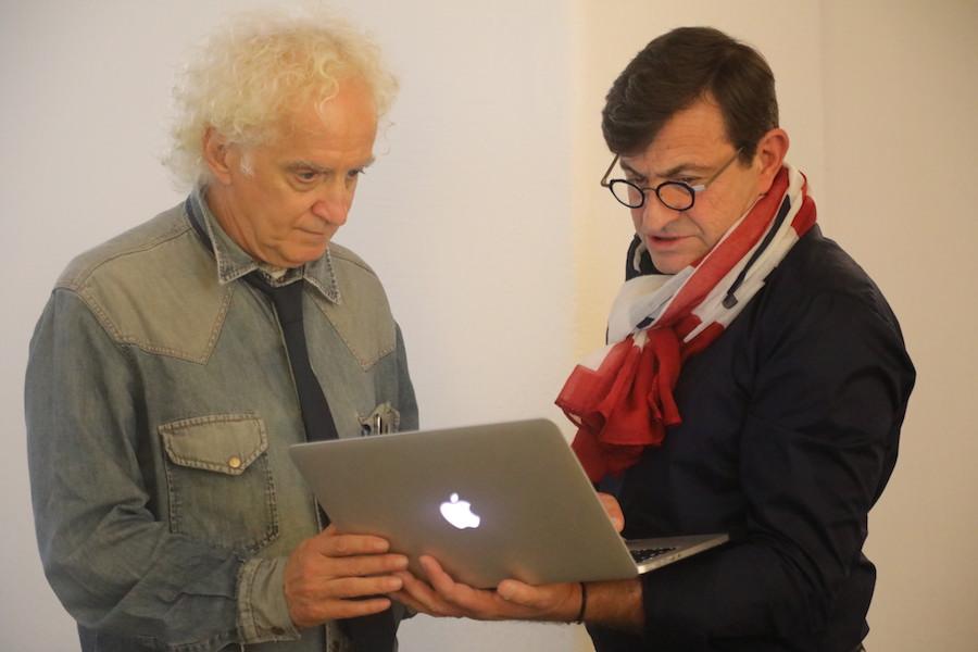 Lamberto Cantoni e Andrea Rastelli
